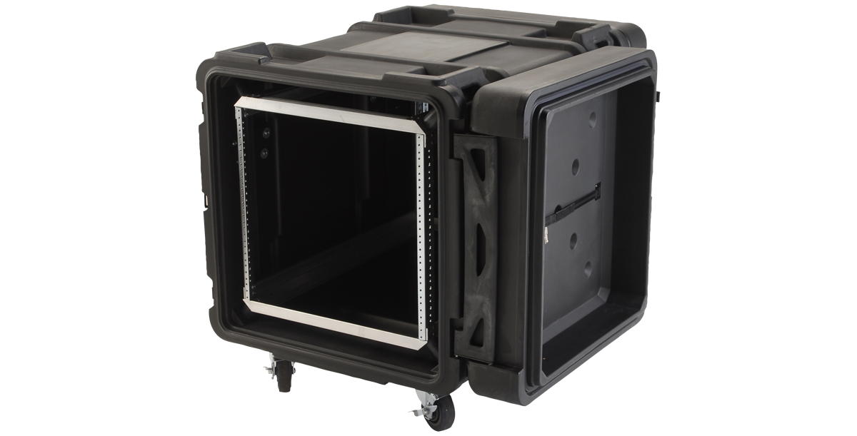 10U Roto Shockmount Rack Case - 30